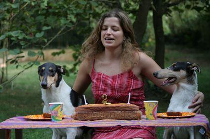Sveva fête ses 2 ans en compagnie de Milan